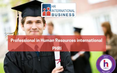 Professional in Human Resources international – PHRi