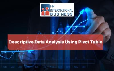 Descriptive Data Analysis Using Pivot Table